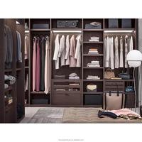 Elegant Ready To Assemble Bedroom Flat Pack Walk In Wooden Wardrobe Closet/Flat Pack Walk In Wardrobe/Wooden Closet