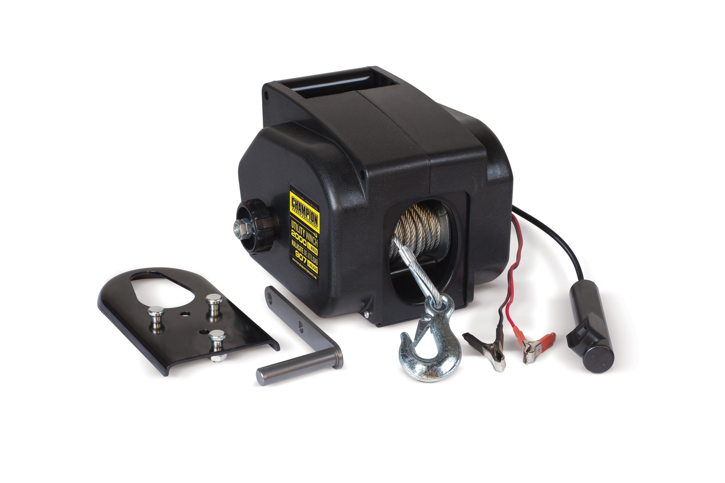 Cheap Utility Winch Find Deals On Line At Alibabacom Champion 2500 Wiring Get Quotations Power Equipment 12090 2000 Lb 12v Dc Kit For Marine