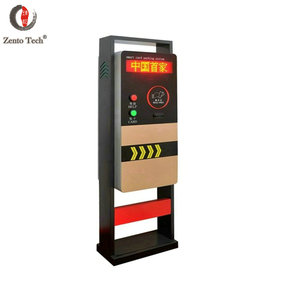 Remote control barrier gate of straight lines with customized barrier for parking system