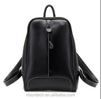 name brand fashion pu leather backpack for girls