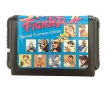 Game Cartridge – Street Fighter II 12P Special Champion Edition  For 16 bit Sega MegaDrive Genesis Game console EUR/USA Case