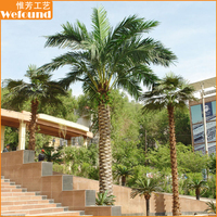 Artificial indoor or outdoor Canary Date Palm Tree, Artificial tree, Artificial plant