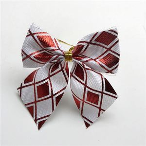 New products cheap christmas ornaments different Size bowknot christmas decoration yiwu