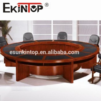 Trade Assurance Office Furniture Desk Round Conference Table - Granite conference table for sale