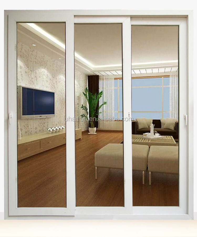 China custom high quality pvc sliding windows and doors with roll up shutters