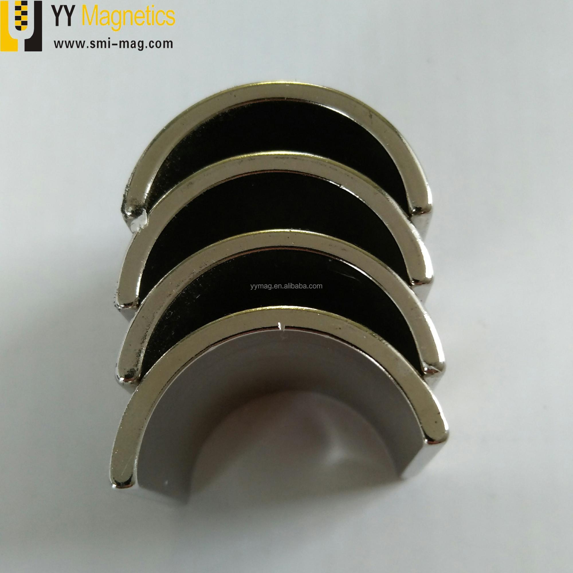 Arc Rare Earth Neodymium Magnet Motor Generator
