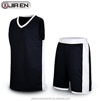 c274c3dc8624 2016 - 2017 Best nice basketball jersey design custom latest fashion black  basketball uniforms