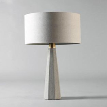 Superbe Contemporary Cement Lamp Base With White Round Drum Shaped Shade Decorative  Table Lamps   Buy Concrete Table Lamp,Cement Table Lamp,Contemporary Table  ...