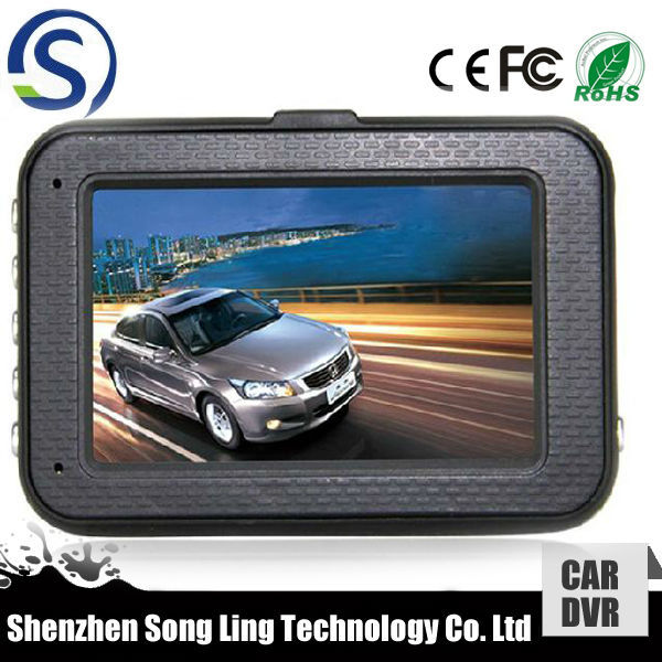 Lane Departure Warning System Function HD Car DVR