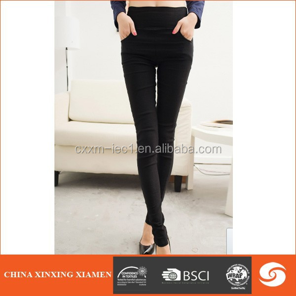 Women Thick Warm Fleece Lined Fur Winter Sexy Tight Pencil Black Legging Pants