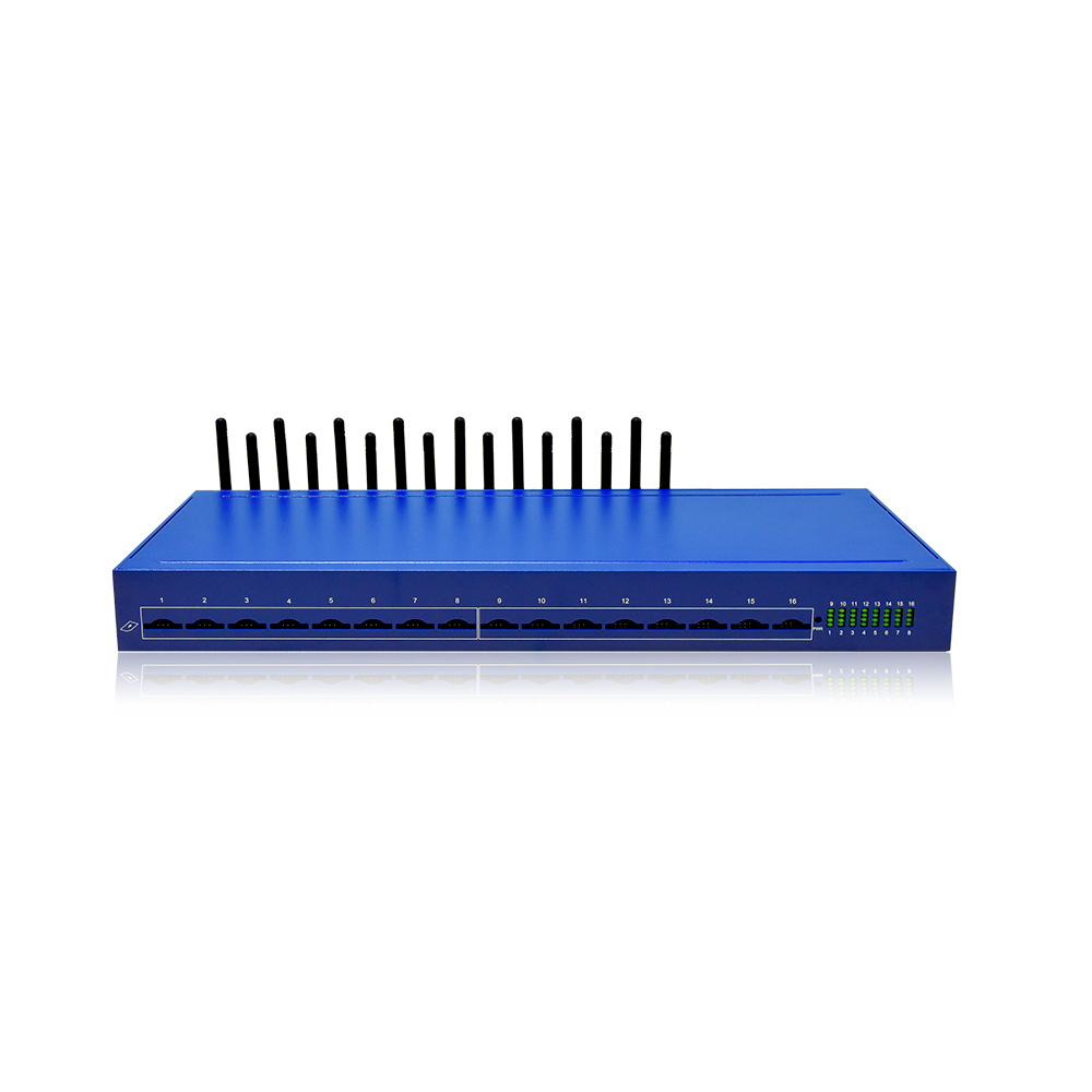 Hot selling 16 port goip gateway with 16 <strong>SIMs</strong>/ goip 16 port gsm gateway