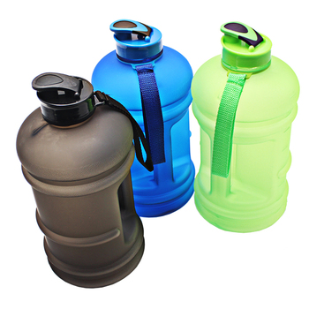 2 Liter Bobybuilding New Wave Water Bottle Plastic Jug With Handle Bpa