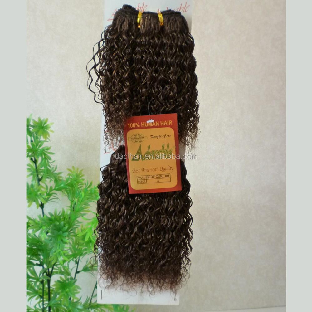 Adorable100 Human Hair Extension Hair Weave Bebe Curl Weave Buy