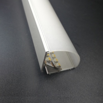 Big High Power Corner Mounted Aluminum Led profile , Aluminum channel led strip for 20mm strip 5050/5630/2835/3528