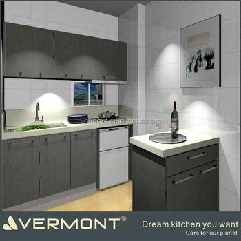 Wohnung Bungalow Moderne Fertige Kleine Kuche Design Buy Kleine