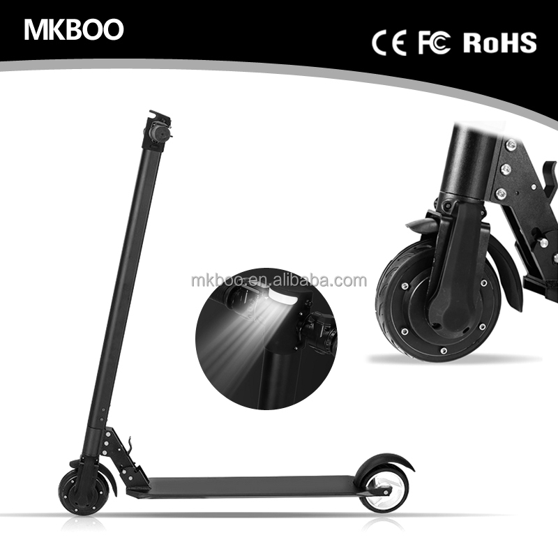 E Skateboard Aluminium Alloy 350w electric scooter 5 inch light weight 6.3k folding mini electric scooter