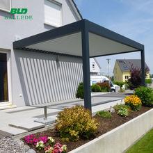 Waterproof Adjustable Louvered Roof Patio Cover, Waterproof ...