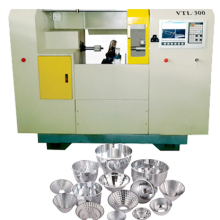 New style machine factory Lower Price Automatic CNC ABS system spinning Machine for metal pot