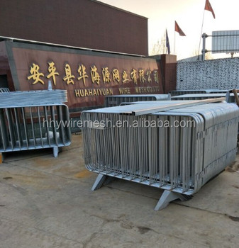 galvanized temporary fence steel rope welded movable fence barrier