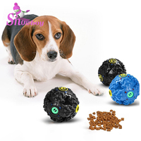 Wholesale Custom Premium Quality Plastic Pet Dog Treat Dispensing Toy Ball