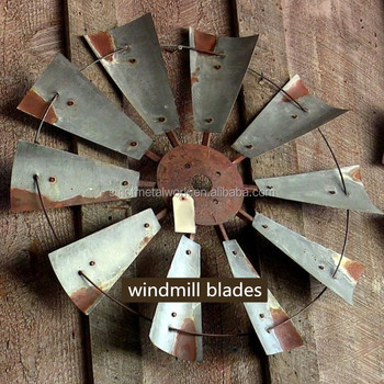 Rustic Full Decorative Wrought Iron Yard Windmills With 10 Fan Blades  Ornamental Garden Metal Windmill Farmhouse
