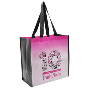 Custom Promotional Laminated Non Woven Reusable Shopping Bags