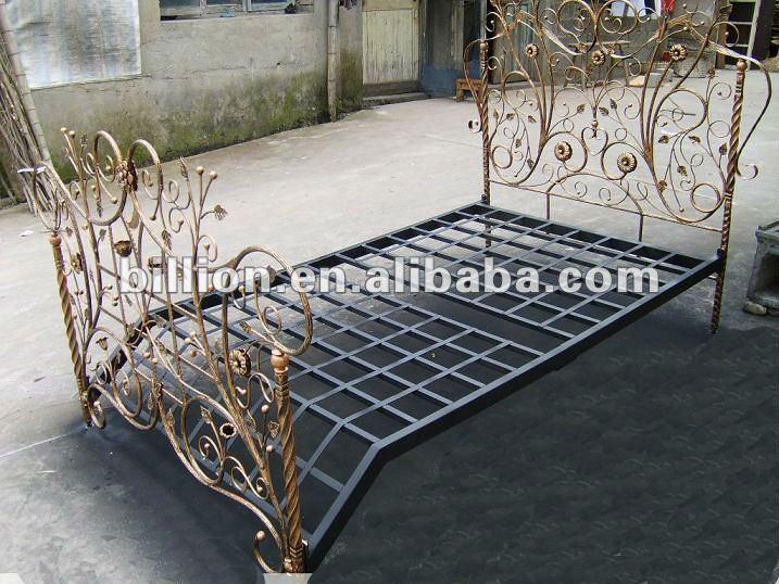 2012 china fabricante nuevo dise o hermosas camas camas - Camas antiguas de hierro ...