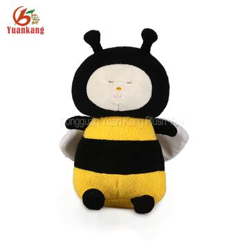 Custom Top Quality Cute Plush Bee Design Plush Baby Stuffed Animal