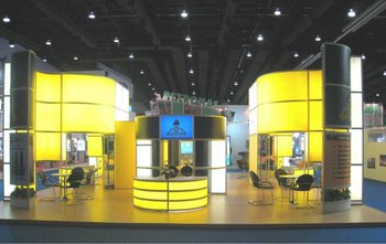 Exhibition Stand Builders Thailand : Nigc national iranian gas company exhibition stand biith in