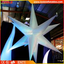 white Inflatable Star 16 Point 5m for sale