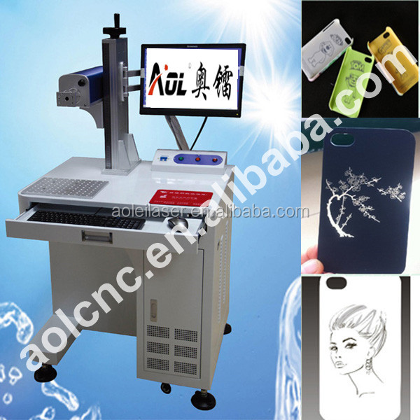 AOL- low price fiber marking machine with low price