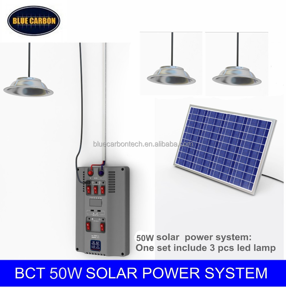 new energy resource 50w solar system