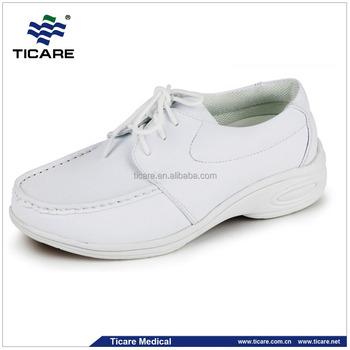 Comfortable All White Nursing Shoes
