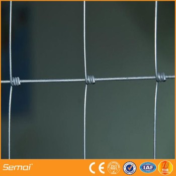PVC Coated Galvanized Gate Hinge Joint Field Fence Hog Wire Fence Hot Sale (Farm Gate, Horse rail, Cow Fence)