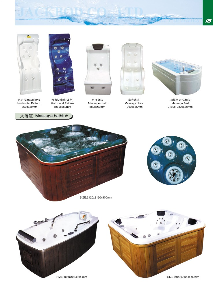 Spa & Accessories Massage Bed Spa Equipment /Spa Hydrotherapy Equipment/Medical Spa Equipment