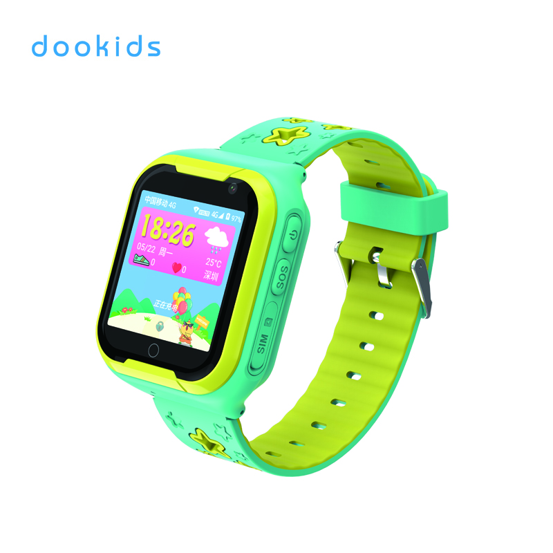 Motto 1.54 inch TFT display phone and video calling WIFI GPS navigation kids smart watch 4g фото