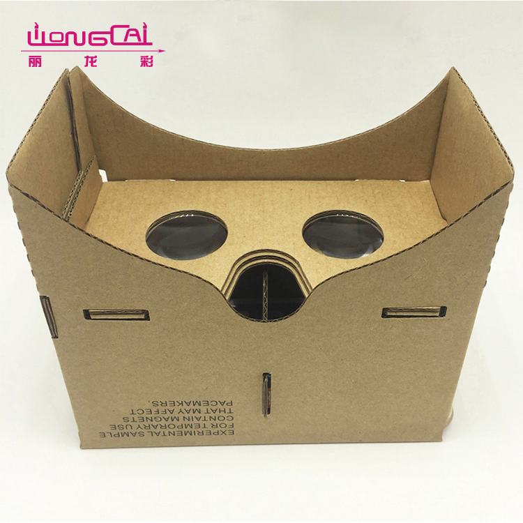 High quality 2 packs recycled easy carry beer bottle carrier corrugated packaging box