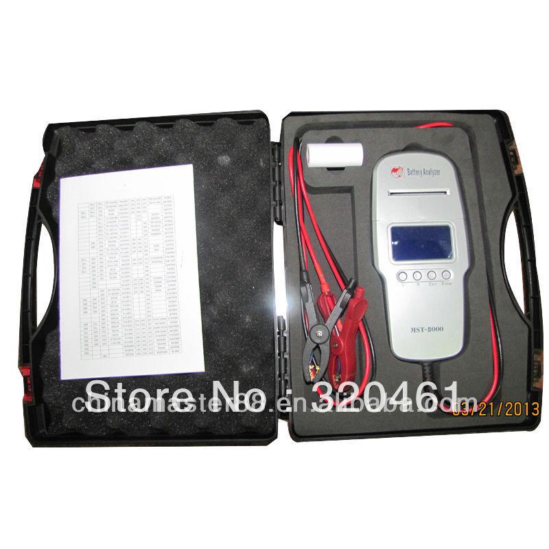 Быстрая доставка цифровой аккумулятор анализатор со встроенным принтером MST-8000