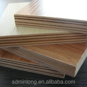 18mm both sides melamine faced poplar plywood / die board prices
