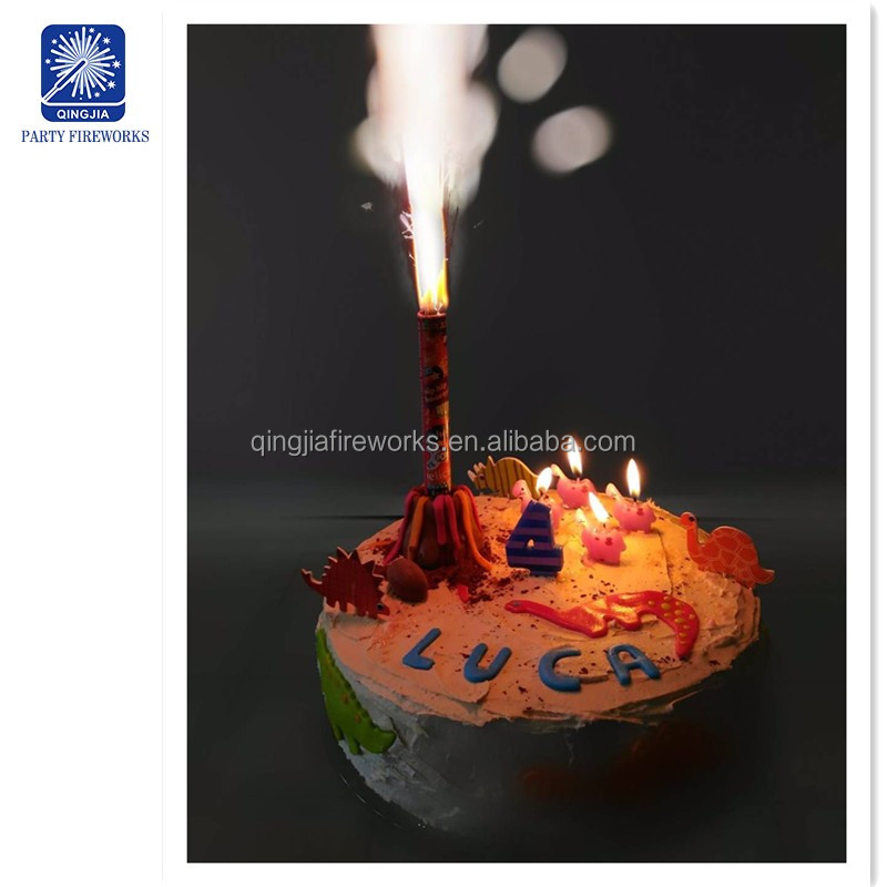 10cm 10 20 30 35s indoor happy birthday cake candles fireworks candle