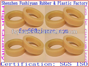 custom molded silicone O rings rubber yellow O rings industrial green flat rubber rings