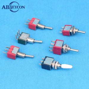 15A 250V on off on tel outlet china supply mts-102 on-on toggle switch 2P 3P 4P 6P 9P 12P