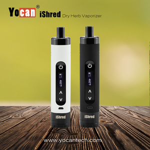 New products 2016 hot new Dry herb / Oil /Wax vaporizer 1500mah Mini portable wax vaporizer pen Vapor Yocan ishred