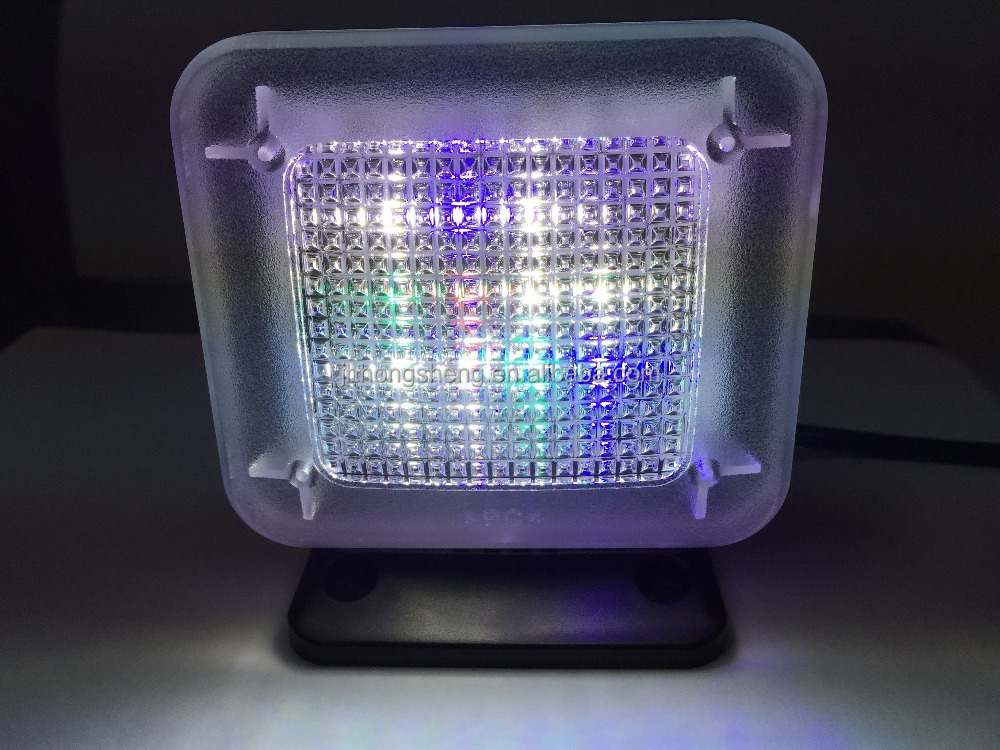 Digital Fake TV with Color Changing LED and Low Power Consumption