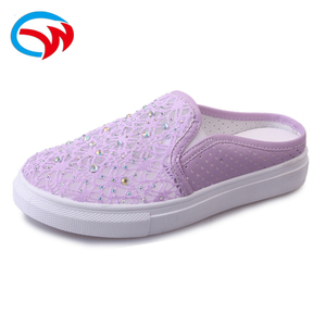 new model ladies trendy sexy comfortable purple walking casual flat loafer women shoes