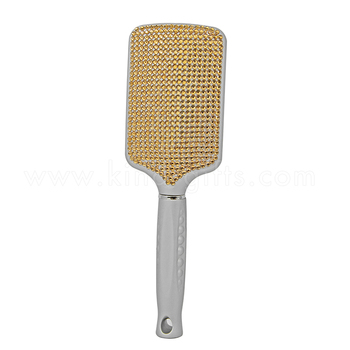 Cool Rhinestone Decorative Nice Quality Cheap Paddle Brush Unique Hair Brush Sales