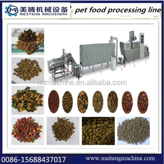 Automatic dog,cat,fish feed extruder machines