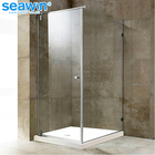 Service cabin square free standing custom hinge shower glass enclosures,shower bath cabin screen