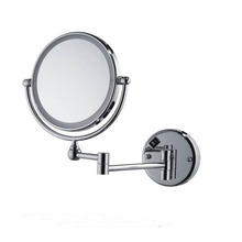 Round Frame Double Faces Magnifying Cosmetic led makeup mirror