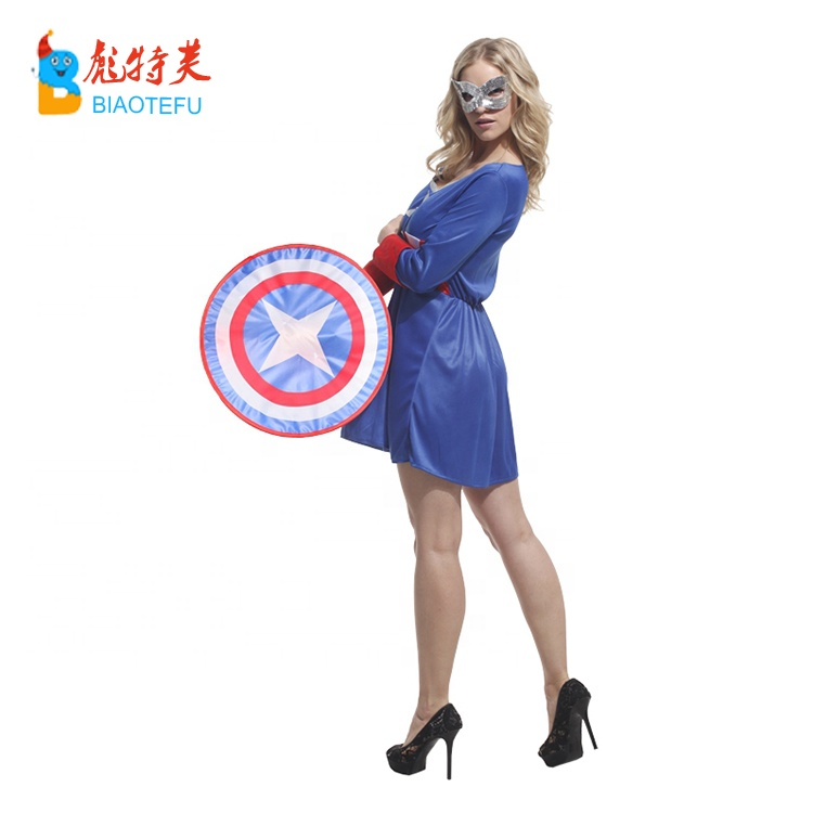super hero woman cool cosplay fancy dress costume